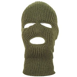 Ski Mask Olive Drab, Acrylic