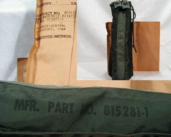 Oxygen Bottle Case, Pn# 815281-1