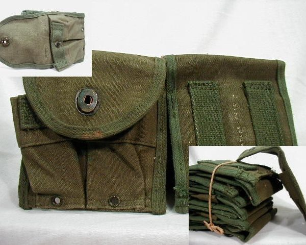 M-1 Carbine Mag Pouch 15rd., Copy