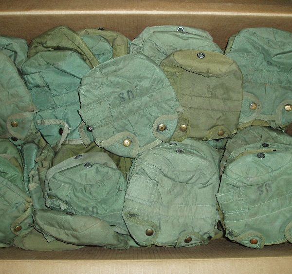 Canteen Cover, G.I. 1 Quart, Olive Drab Used