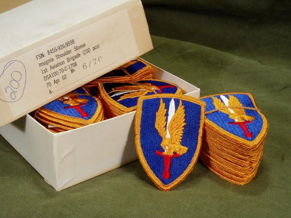 1st Aviation Brigade Shoulder Patch, Color