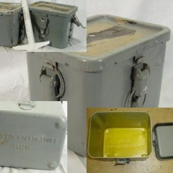 Us Navy Signal Container Box Mk3 Mod 0