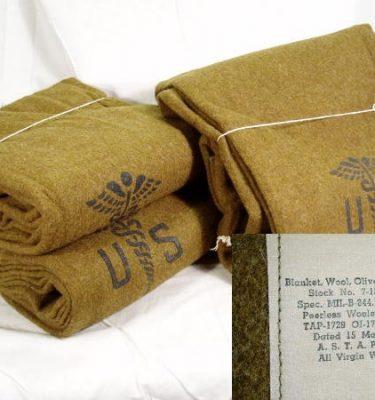 US Medical Wool Blanket Korea