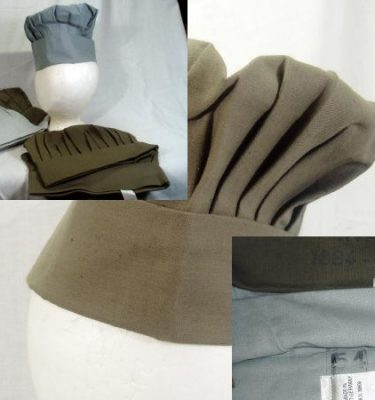 Chef's Hat, East German