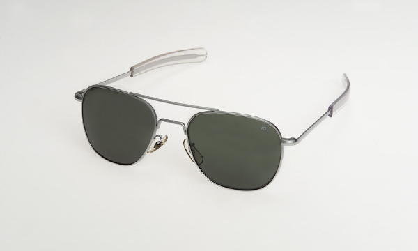 American Optical Pilot Sunglasses Matte Bayo 52mm