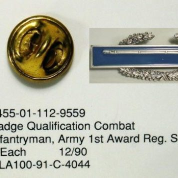 Combat Infantry Badge, CIB