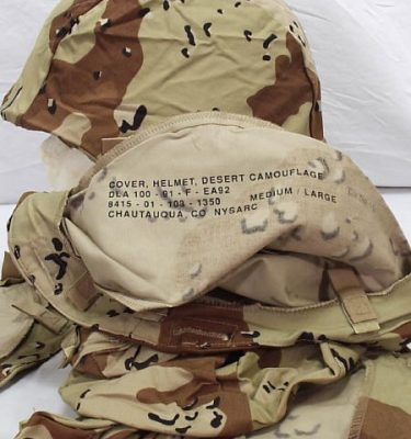 Pasgt Kevlar Helmet Cover, Desert Storm