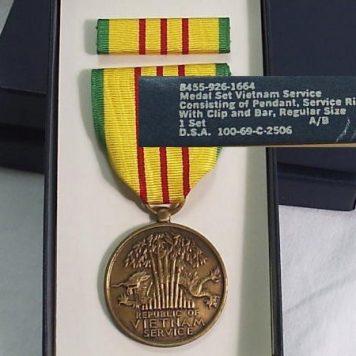 Vietnam Service Medal Fsm Vsm