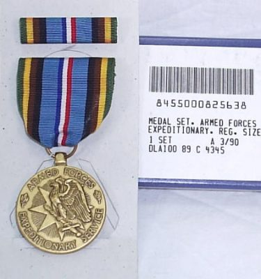 Armed Forces Expeditionary Medal Fsm Afem