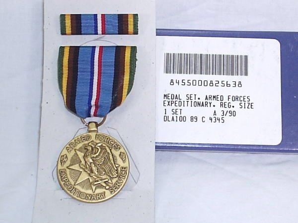 Armed Forces Expeditionary Medal Fsm Afem