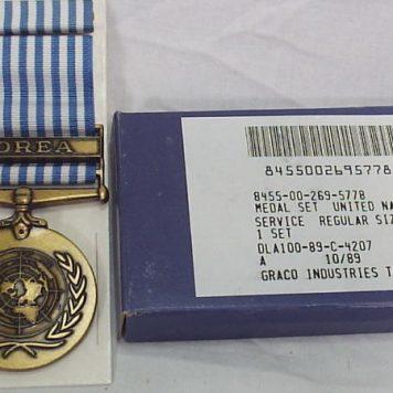 United Nations Service Medal Korea Fsm
