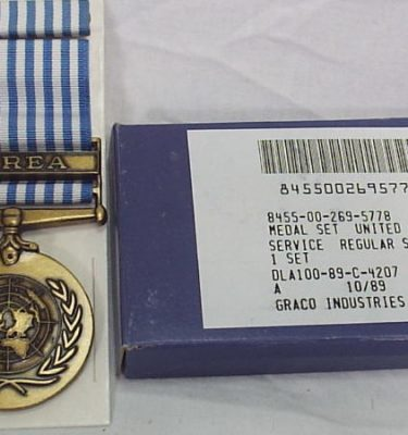United Nations Service Medal Korea Fsm