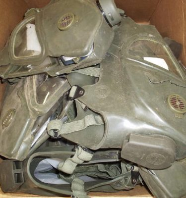 Vietnam Gas Mask, Xm-28 Better Condition