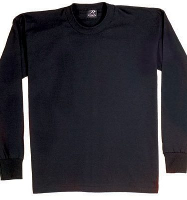 Long Sleeve T-shirt, Black