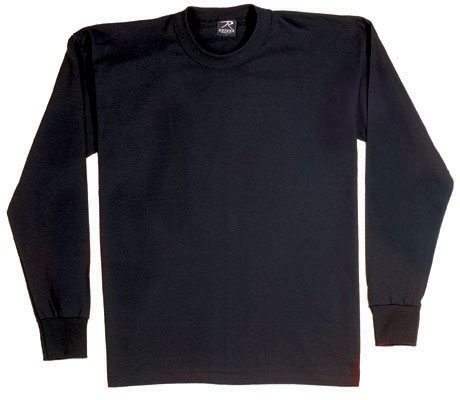 Long Sleeve T-shirt, Black