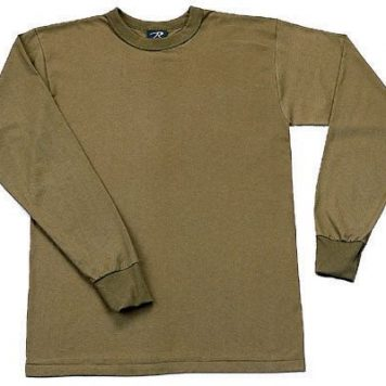 Long Sleeve T-shirt, Olive Drab