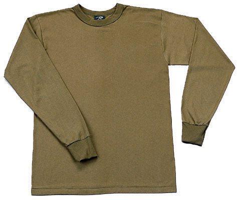 Long Sleeve T-shirt, Olive Drab