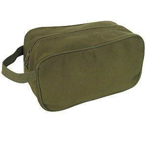 Shaving Kit Bag, Green