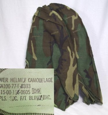 M-1 Helmet Cover, Transitional Pattern