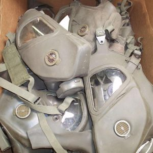 Vietnam Gas Mask, Xm-28 Bad Condition