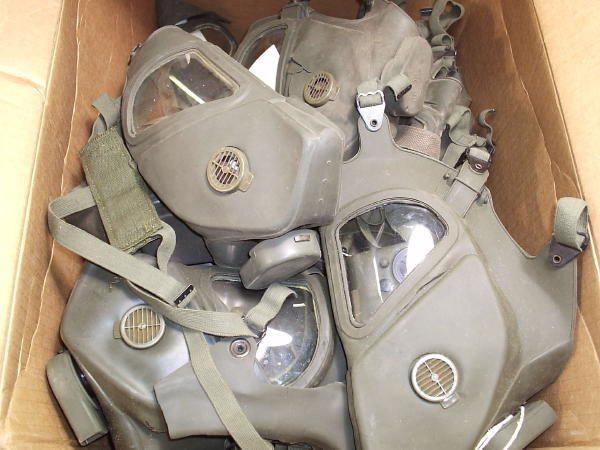 Vietnam Gas Mask, Xm-28 Bad Condition