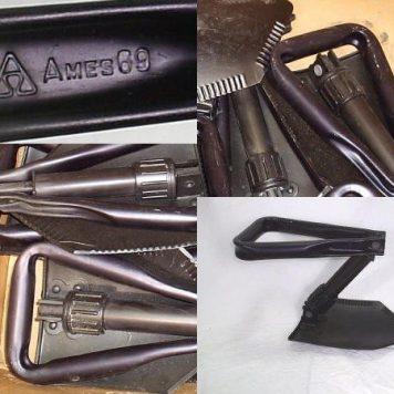 Vietnam Dated Trifold Shovel