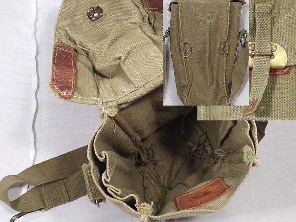 Belgian Gas Mask Bag