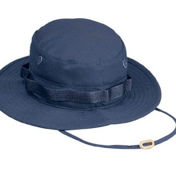 Military Boonie Hat, Blue 50/50 Rip Stop