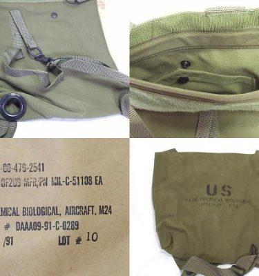 M-24 Aircraft Gas Mask Bag