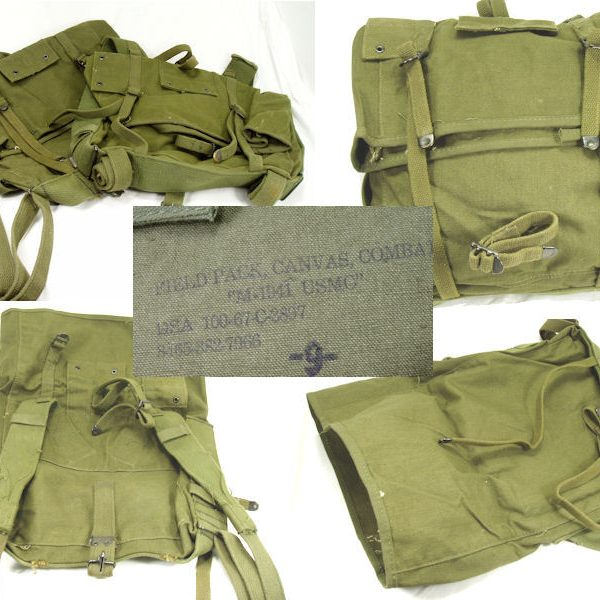 USMC Haversack, M-1941 Top Pack