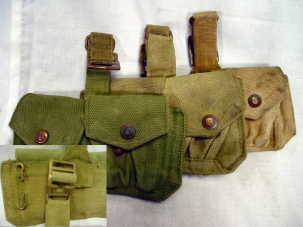 Belgian Army Ammo Pouch 2 Pkt