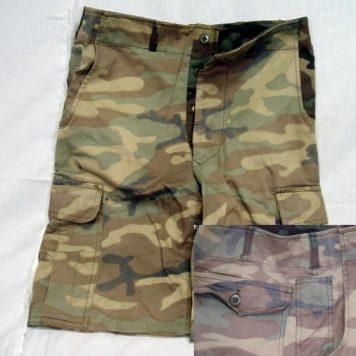 Korean Camo Shorts, 30w