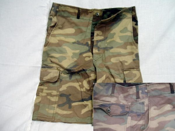 Korean Camo Shorts, 30w