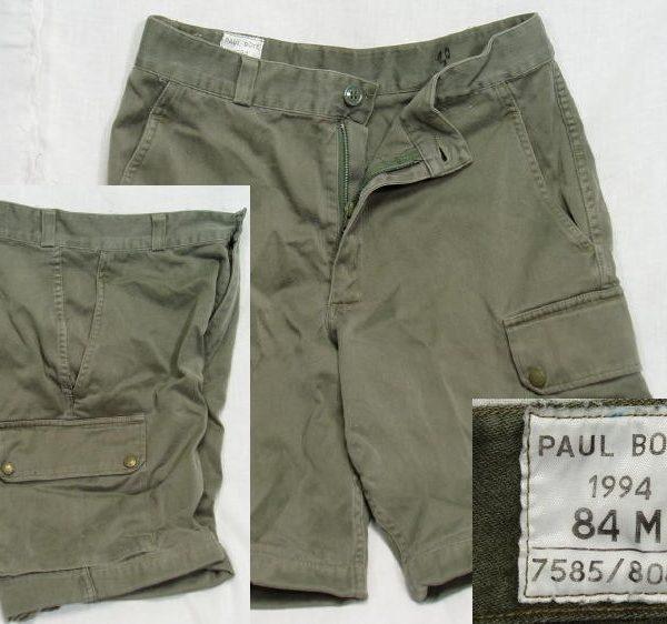 French Combat Shorts, Od, 30w