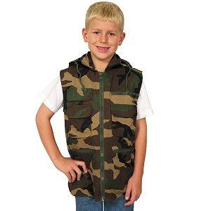 Kid's Ranger Vest, Woodland