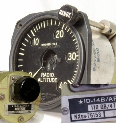 Radio Altitude Gauge