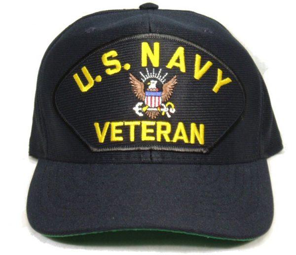 U.S. Navy Veteran Cap w/ Eagle