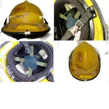 Fireman's Helmet Used