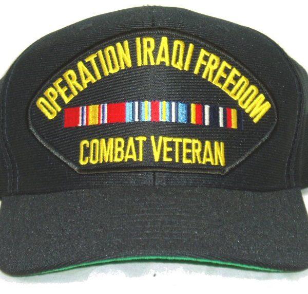 Iraqi Freedom Cap Combat Vet