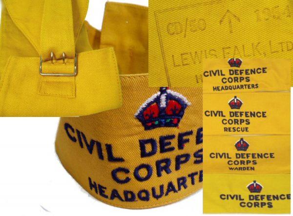 Civil Defense Brassard