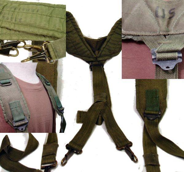 LC-1 Nylon Suspenders, Used