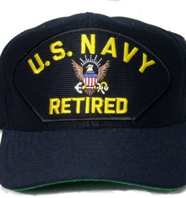 US Navy Retired Cap