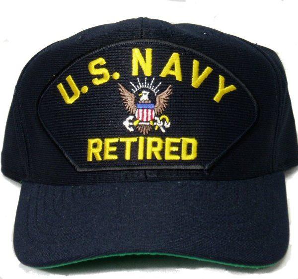 US Navy Retired Cap
