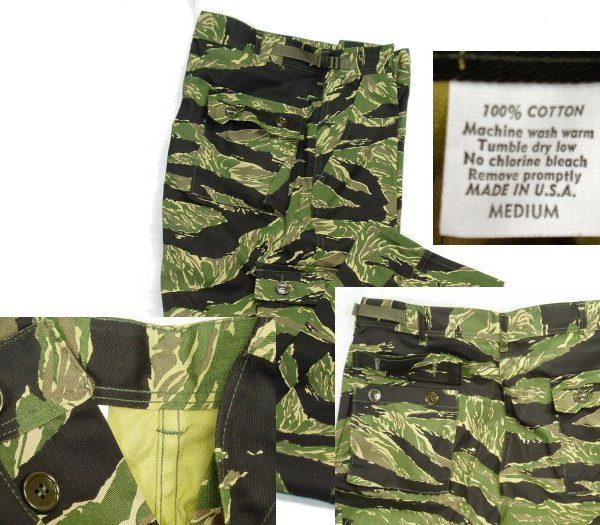 Vietnam Tigerstripe Pants, Will Fade