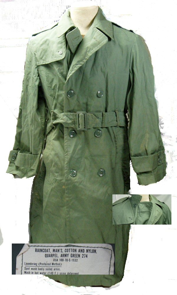 Army Vietnam Raincoat