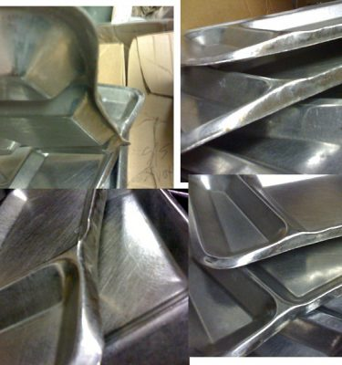 Mess Hall Tray, 6 Cmpt, Used And Abused