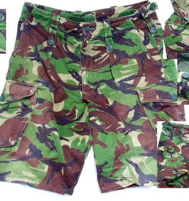British DPM Camo Shorts