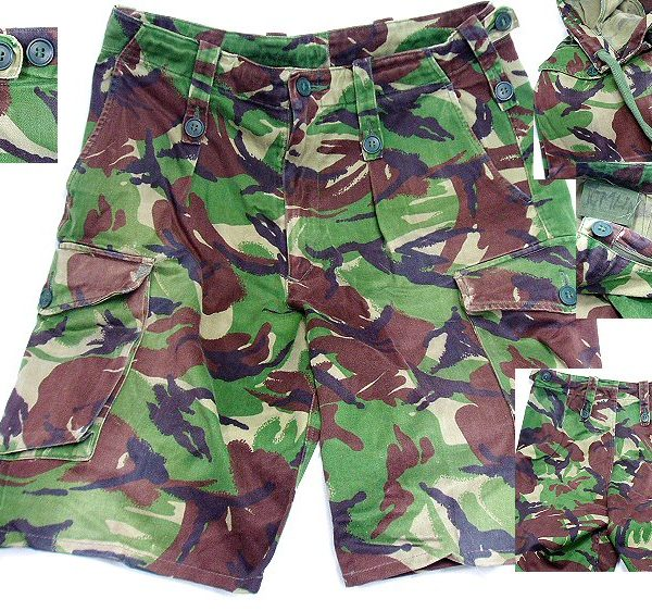 British DPM Camo Shorts