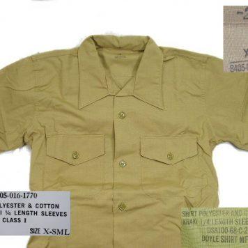 Vietnam Khaki Shirt, Army, 1968 X-small