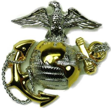 USMC Officer's Cap Device